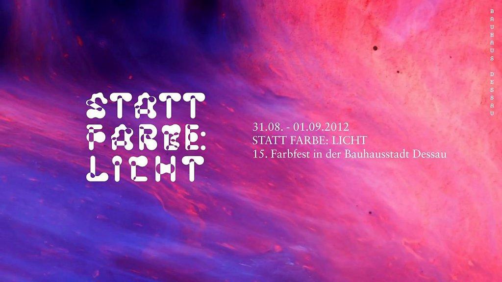 Bauhaus Dessau Farbfest 2012 Trailer
